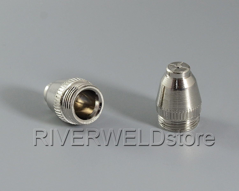 WSD-60P P60 Plasma Electrode Buse 0.9mm 40Amp Fit CUT-60 LGK-60 decoupeur plasma Pilot ARC Starting 25pcs