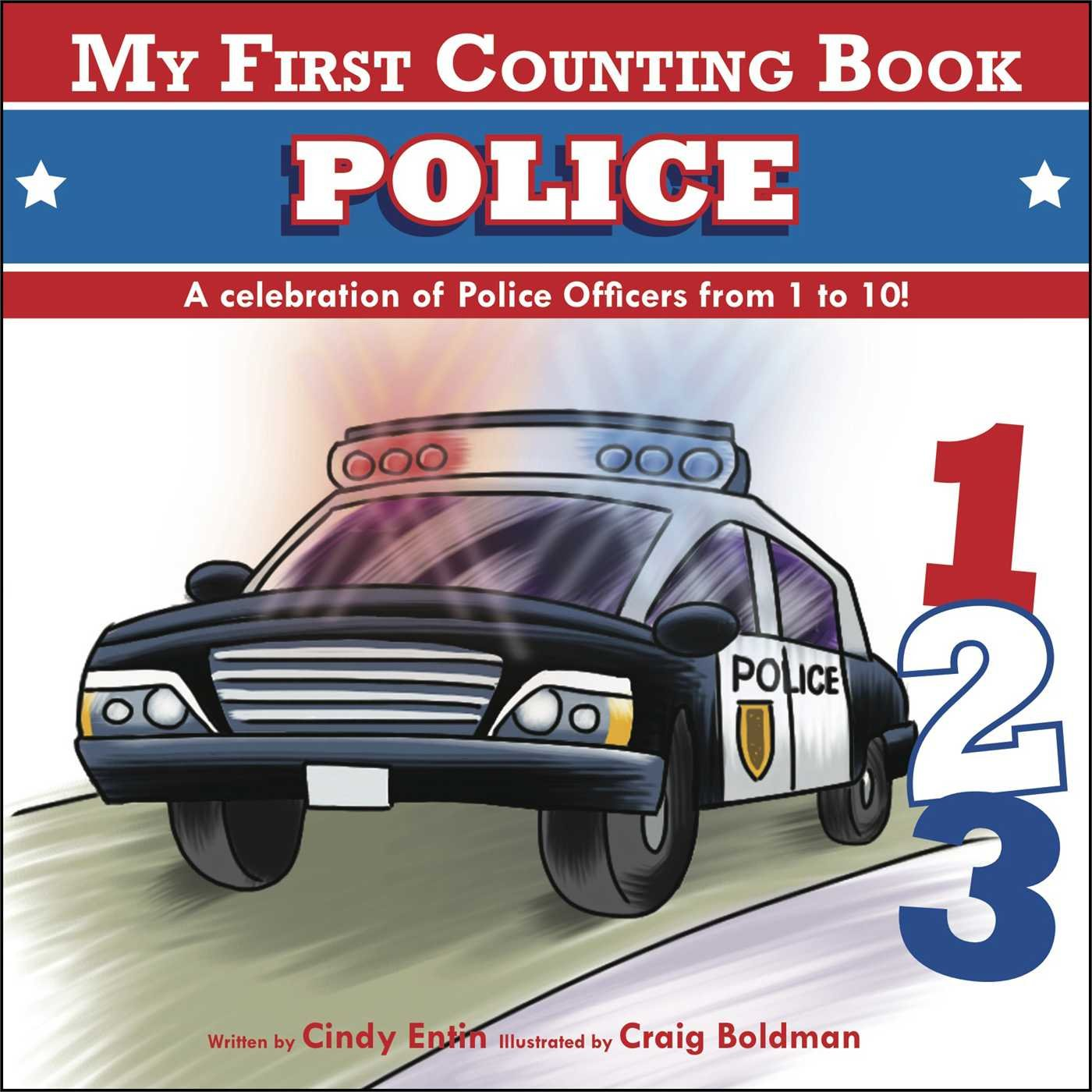 My First Counting Book: Police