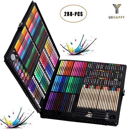 YUEHAPPY® Maletin Pinturas para niños Set papeleria Infantil Color ...