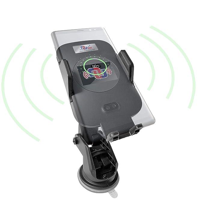 Qi Fast - Cargador de coche inalámbrico con sensor de ...