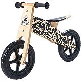 2-5 Years Old Boys and Girls Wooden Balance Bike Pedal less Bike Kids Push Bike Toddler Bicycle