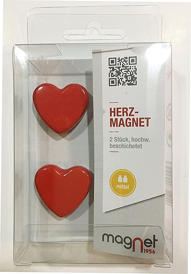 10 x MAGNET HERZ FORM HEART KÜHLSCHRANK NOTIZ PINWAND BÜRO DESIGN STARK FOTO