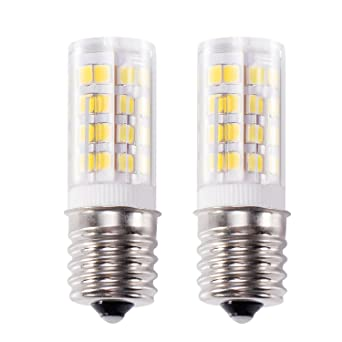 Microwave Oven Light Bulb: Kohree E17 LED Bulb Microwave Oven Light, Stove Bulb Light 4W Daylight  White Non-,Lighting