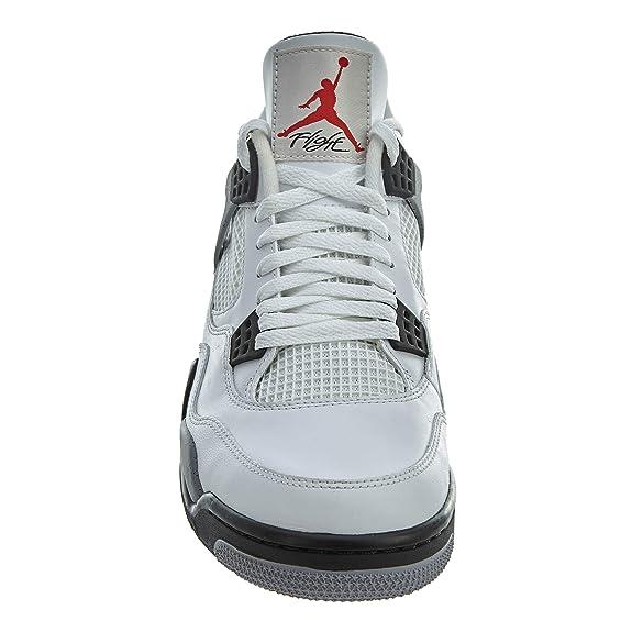 new styles 72313 8a52e Amazon.com   Air Jordan 4 Retro - 10 - 308497 103   Basketball