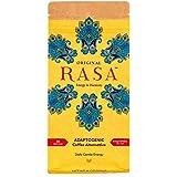 Original Rasa Herbal Coffee Alternative with Ashwagandha, Chaga + Reishi for All-Day Energy + Focus - Caffeine-Free, Organic,