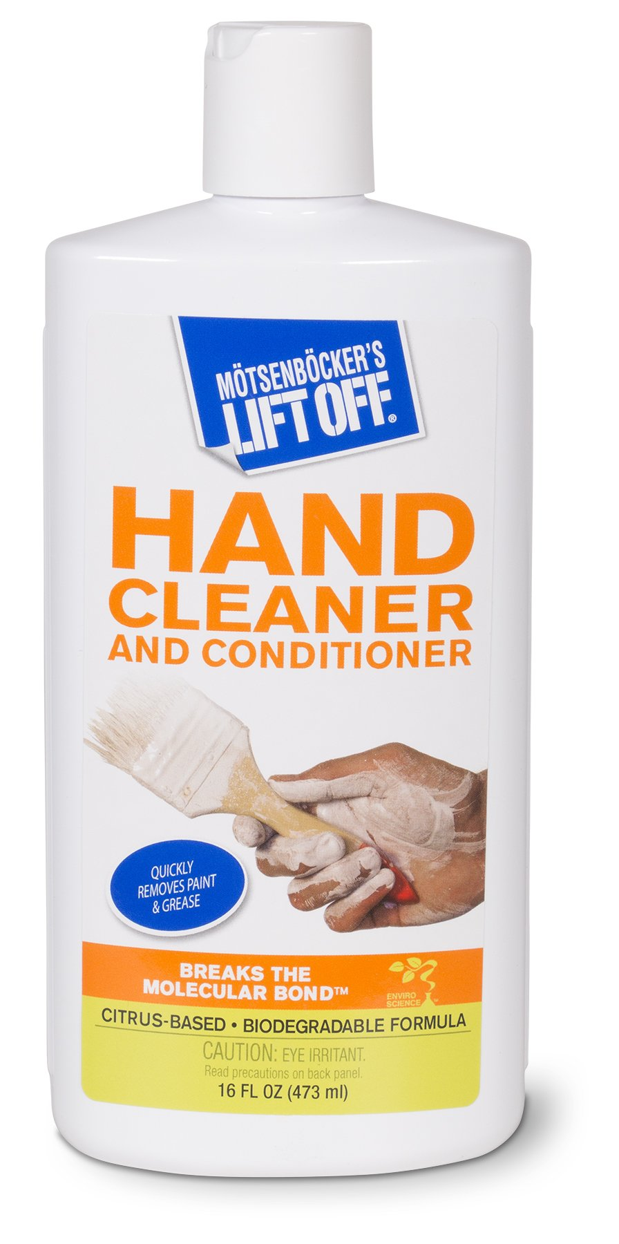 Motsenbocker's Lift Off 41916 Hand Cleaner and Conditioner 16-Ounce Bottle-Pack of 1, Fluid