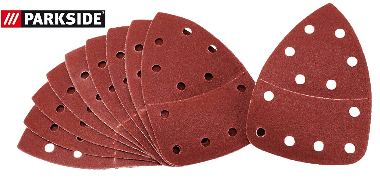 LIDL IAN 303400 Sanding Sheets Set of 10 Wood for Parkside Hand Sanders PHS 160 E5