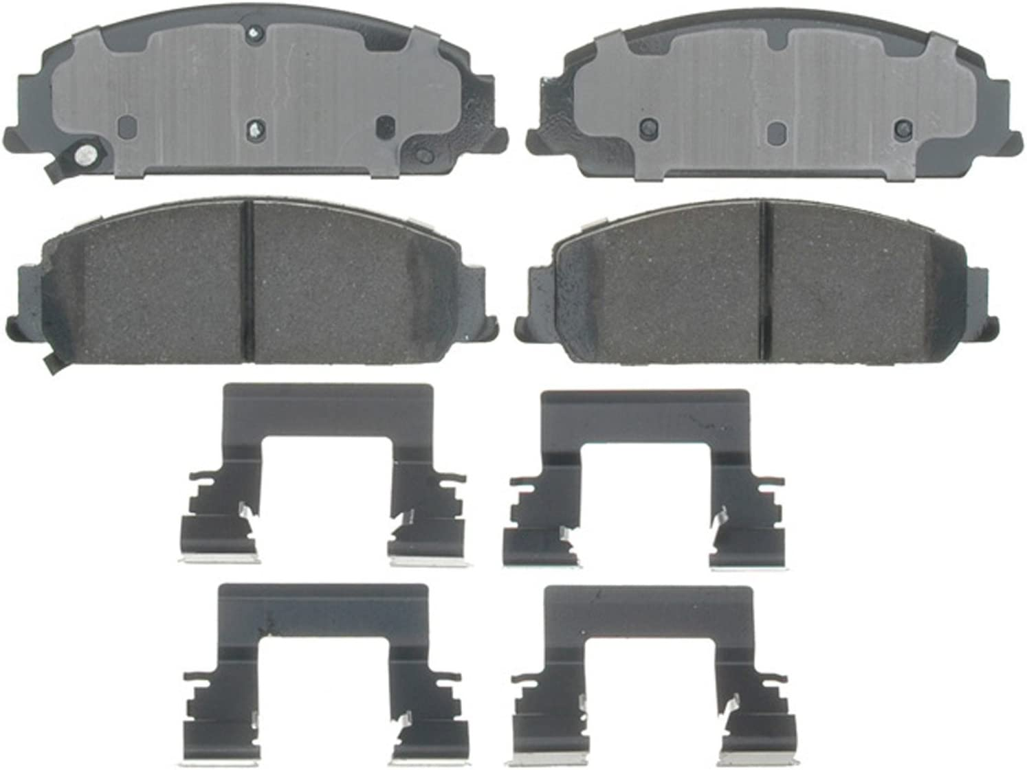 ACDelco 17D855AC Professional Durastop Ceramic Front Disc Brake Pad Set