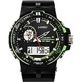 Laurels Digi Analog-Digital Black Dial Men's Watch - Lo-Digi-105
