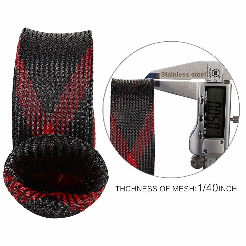 NewL 4/Erweiterbar Geflochten Pet Angeln Spinning Rod Rod 4,5/x 170/cm Schutz Sleeve Handschuhe