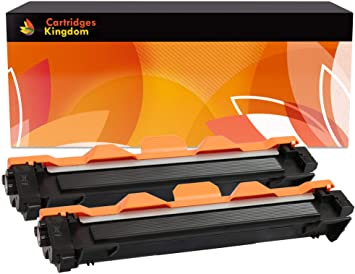 f972a5d6fd0b 2 x TN1050 Black Toner Cartridges Compatible with Brother DCP-1510 ...