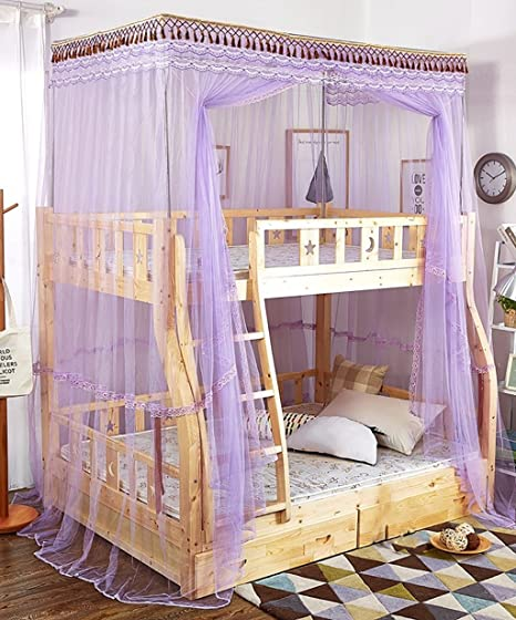 Living Room Curtains Bedroom Curtains Bunk Beds Double Layer Floor