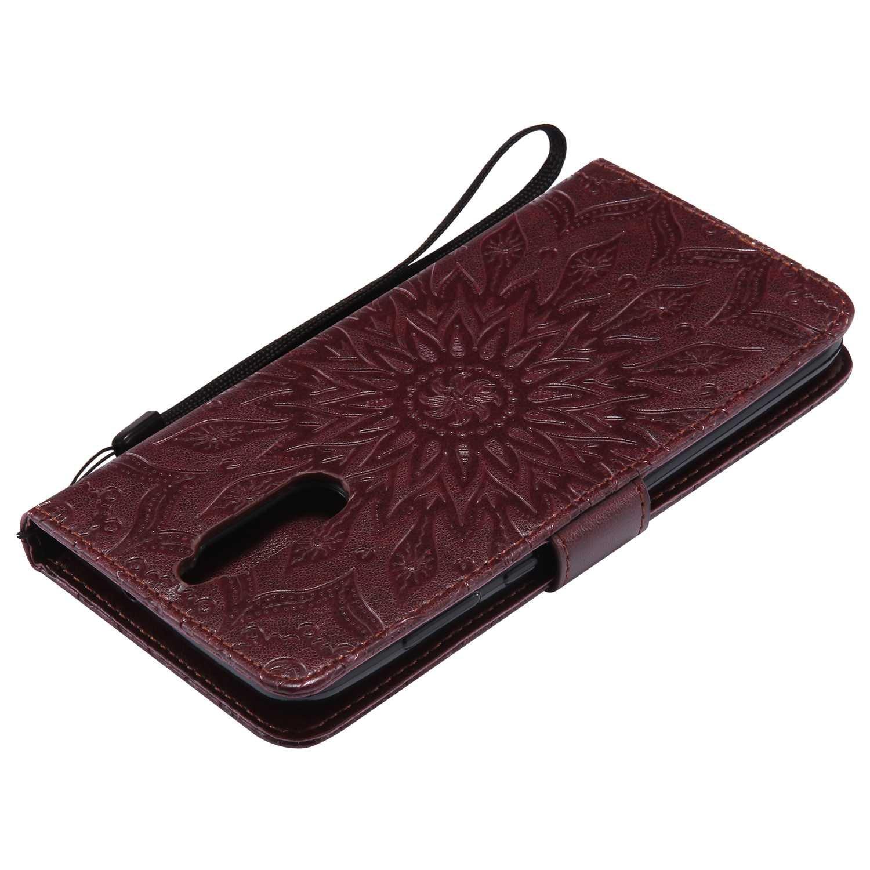 Schutzh/ülle Brieftasche Handyh/ülle f/ür Huawei Mate 10 Lite Premium Leder Tasche Flip Wallet Case Blau Standfunktion Bravoday Huawei Mate 10 Lite H/ülle Kartenf/ächern