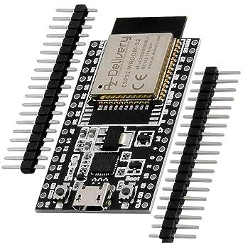 AZDelivery NodeMCU Lua Amica Modul V2 ESP8266 ESP-12E WIFI WLAN unverlötet mit C