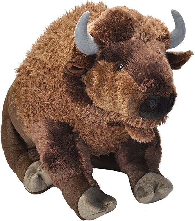 Cuddlekins-Bisonte de Peluche, 76 cm, Color marrón, (Wild Republic 19307): Amazon.es: Juguetes y juegos