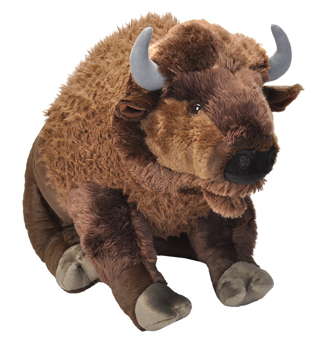 Wild Republic Jumbo Bison Plush, Giant Stuffed Animal, Plush Toy, 30'' by Wild Republic