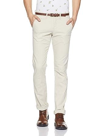 47fd474625 Celio Comone-Pantalones Hombre Beige (Beige 905) 36  Amazon.es  Ropa y  accesorios