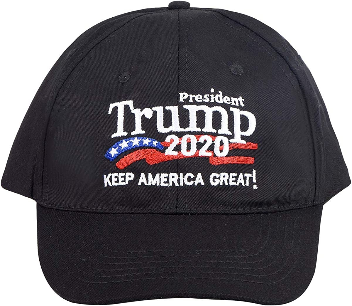 Keep America Great 2020 Letters Embroidered Solid Cotton Mesh Pro Cap