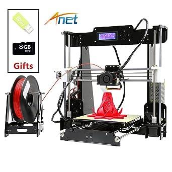 Amazon.com: Anet A8 impresora 3d Prusa i3 kit de bricolaje ...