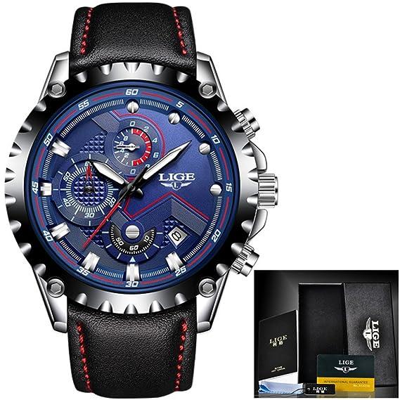 Reloj de cuarzo Reloj de hombre de moda Reloj de hombre Reloj de deporte de acero