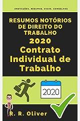 Resumos Notórios de Direito do Trabalho 2020: Contrato Individual de Trabalho eBook Kindle