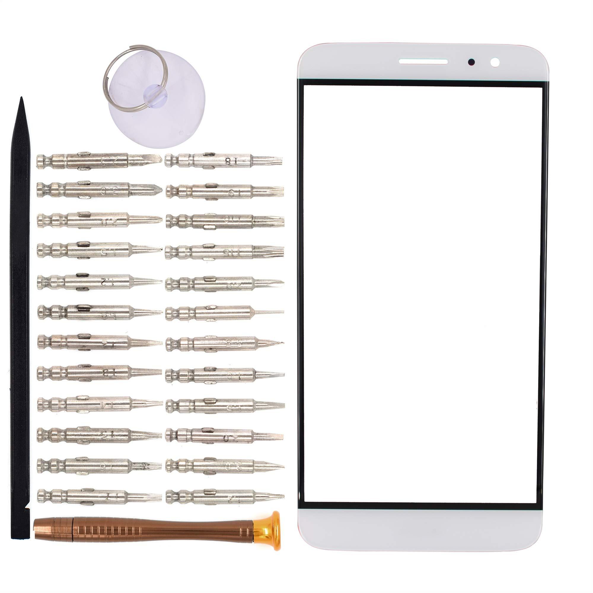 Vidrio Frente Para Huawei G9 Plus Blanco [goodyitou]