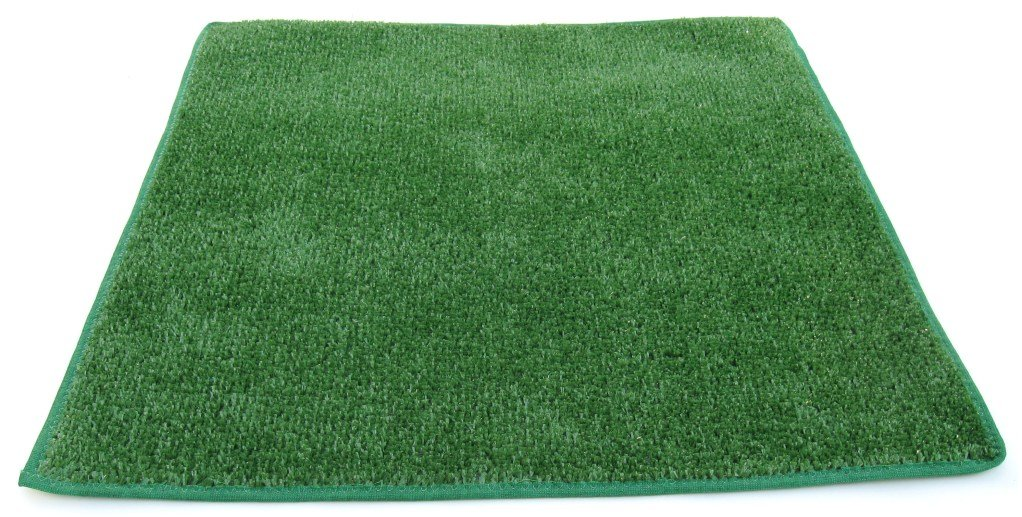 Amazon.com: 9u0027X12u0027   GREEN Artificial Grass Turf Carpet Indoor / Outdoor  Area Rug. Premium Nylon Fabric FINISHED EDGES .UV Protected   Weather And  ...