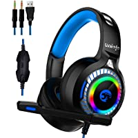 Uniojo A60 Gaming Headphones with Mic
