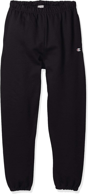 Champion LIFE Men/'s Reverse Weave Sweatpant W//Pockets Team MAROON MEDIUM Mens