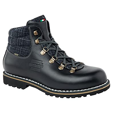 Zamberlan - 1085 berkeley nw gtx - norwegian welted boots - waxed black - 11
