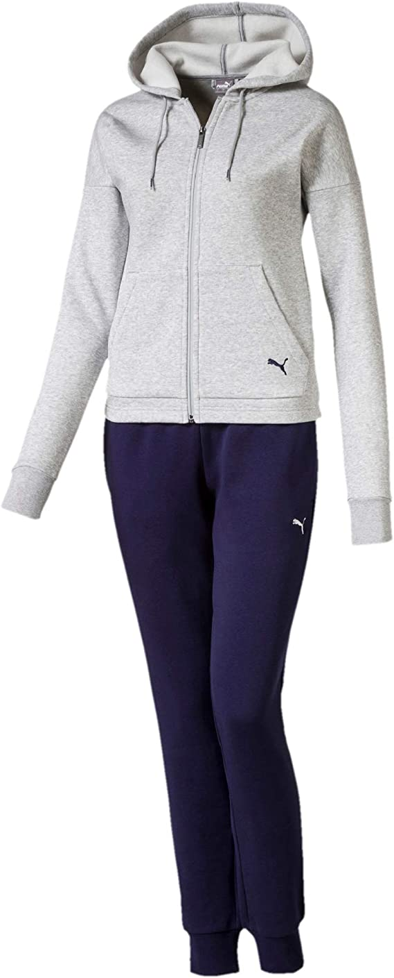 PUMA Classic Hd. Sweat Suit, Cl - Chándal Mujer: Amazon.es: Ropa y ...