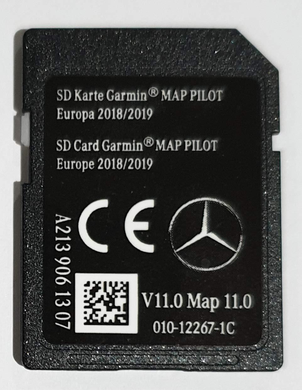 Carte SD Mercedes Garmin Map Pilot Europe 2018-2019 STAR2 A2139061307