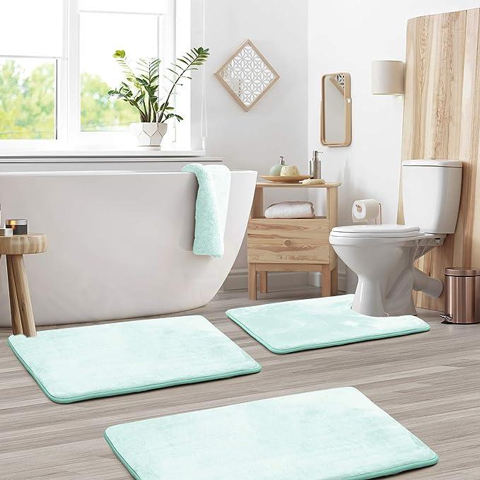 AQUARUG CARPET MAT FOR BATHROOM SHOWER AQUA RUG NON SLIP GRIP BATH MAT WATER