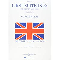 First Suite In E Flat For Military Band Deluxe Score With CD 1St