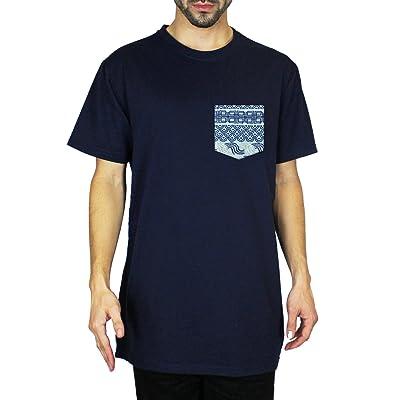 Beautiful Giant Mens New Jersey Navy Crew Neck Short Sleeve Classic T-Shirt