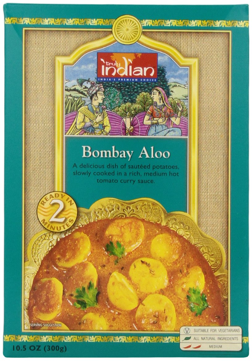 Amazon.com : Truly Indian Bombay Aloo R-t-e Retort, 10.5-Ounce ...