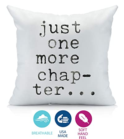 Oh, Susannah Just One More Chapter Pillow Cover
