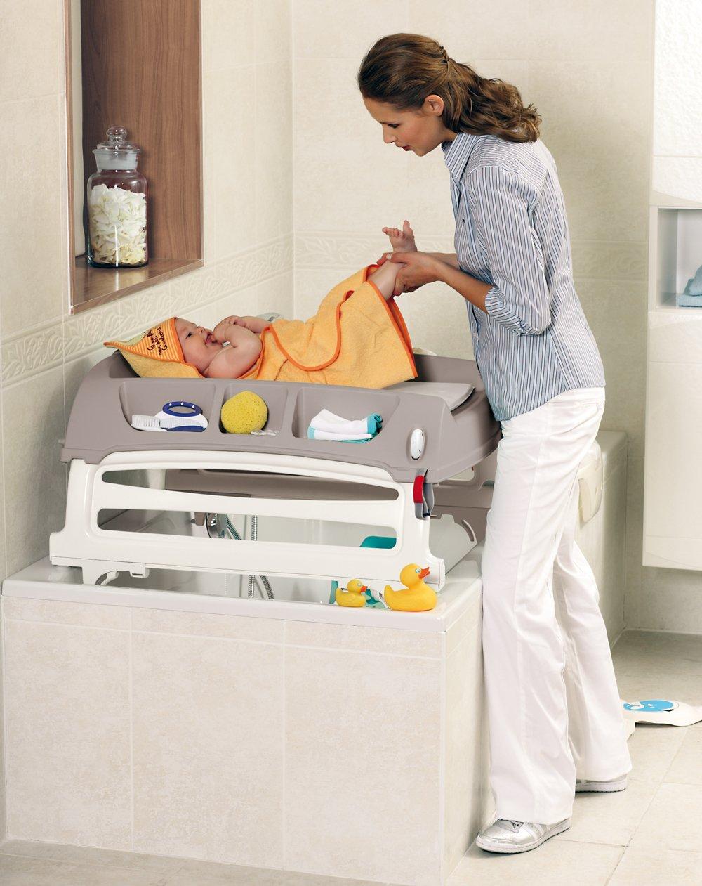 Ok Baby Fasciatoio Flat (Grigio): Amazon.it: Prima infanzia
