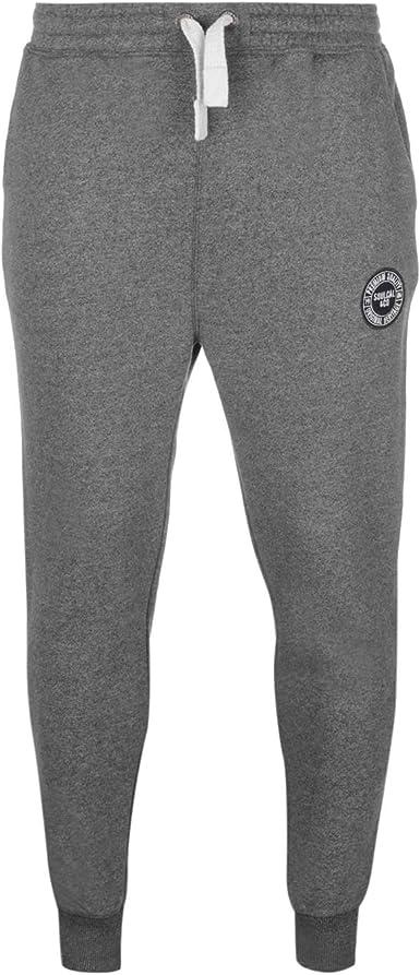 SoulCal Mens Signature Fleece Joggers Jogging Bottoms Trousers Pants Hooded Zip