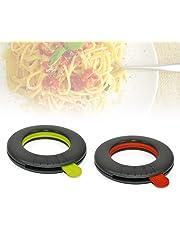 Medidor de espaguetis ajustable de 1 a 4 porciones - Menaje de cocina - Verde