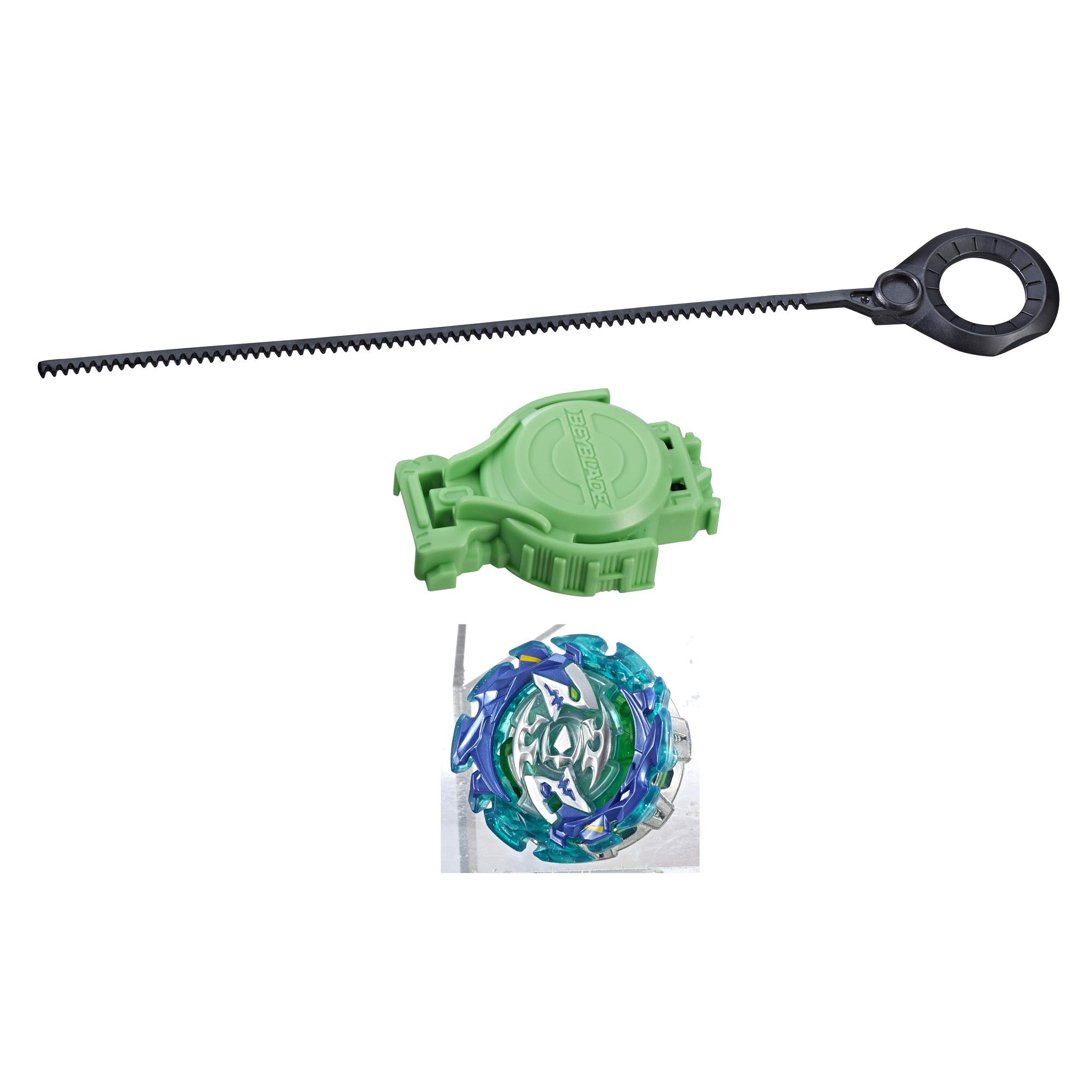 BEYBLADE Burst Slingshock Rip Fire Starter Pack Forneus F4: Light-Up Top with Right/Left-Spin Launcher, Age 8+ by BEYBLADE
