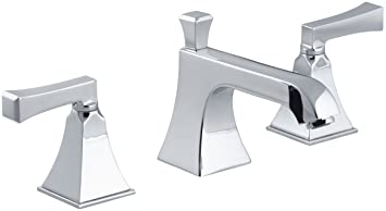 Kohler K 454 4v Cp Memoirs Widespread Lavatory Faucet With Stately Design