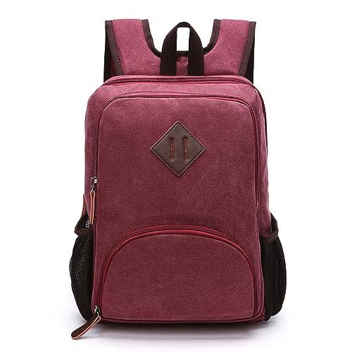 Outreo Hombre Backpack Colegio Mochilas Sport Bolso Vintage Escolares Casual Daypack para Escuela Bolsos de Tela Baratos Mochila Outdoor Bag Bolsas de Viaje ...
