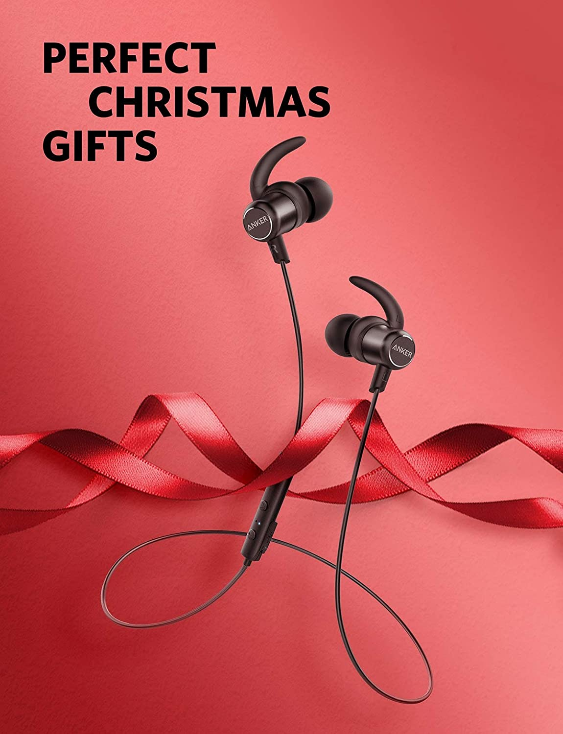 Anker Soundbuds Slim Wireless Headphones Bluetooth 41 Headset Handsfree Earbud Mini L1 Sj0048 Lightweight Stereo Ipx5 Earbuds With Magnetic Connection Nano Coating Sweatproof Sports