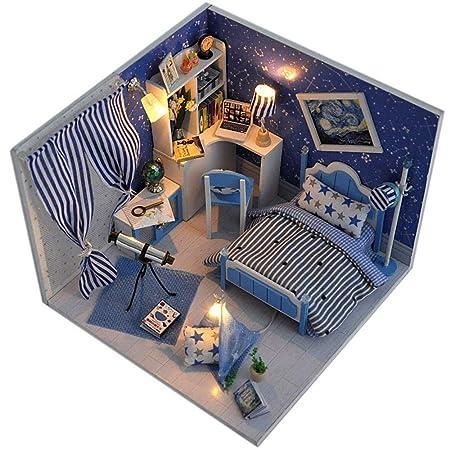 Casa de muñecas Casa de muñecas DIY Regalo de cumpleaños ...
