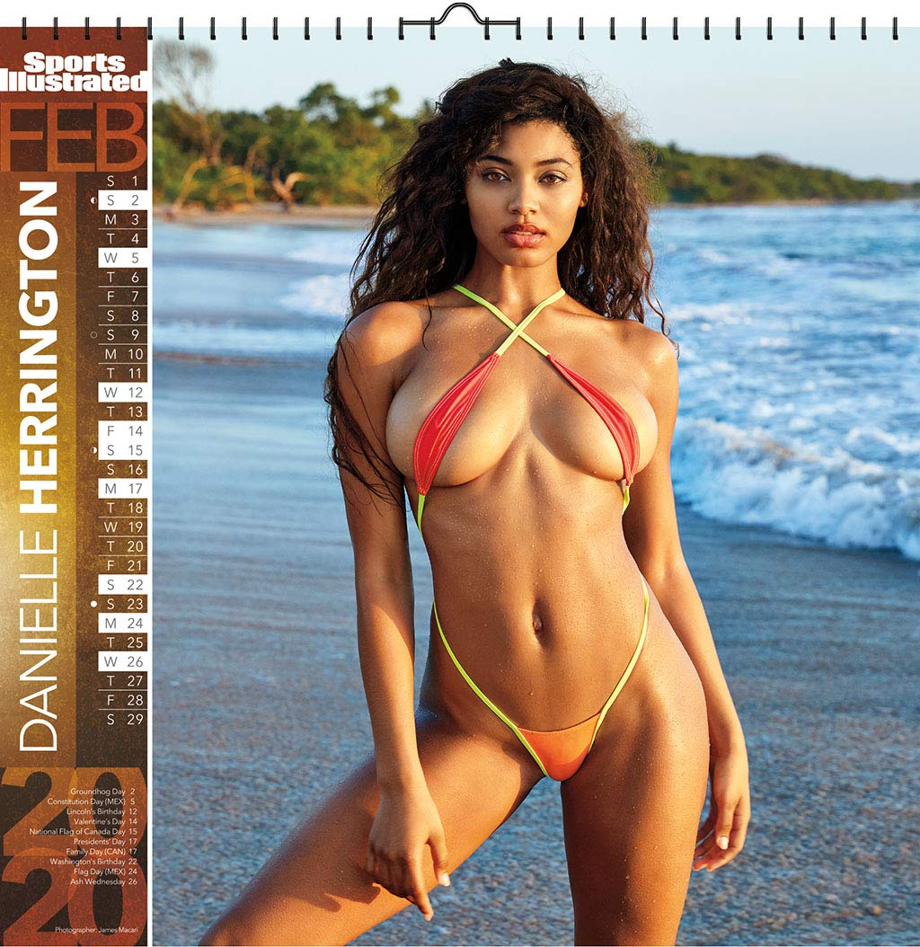 Sports Illustrated Swimsuit 2020 Deluxe Calendar Trends International 0057668206992 Amazon Com Books