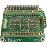 Alchemy Power Inc. Pi-EzConnect. Raspberry Pi 4, Pi 3 etc GPIO Connector. A HAT to Connect GPIOs and sensors to Raspberry a Pi