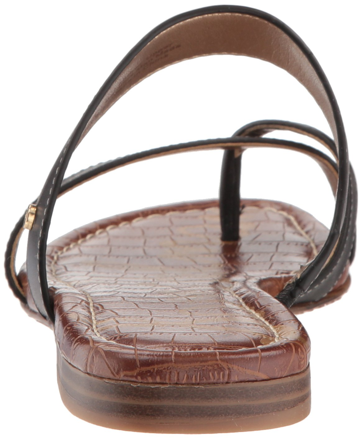 Sam Edelman Women's Bernice Slide Sandal B078HQCH3D 8.5 B(M) US|Black Leather