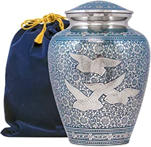 Two Brothers Memorials Eternal Flight Large Urn for Human Ashes up to 200 lbs