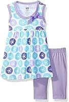 Hudson Baby Girls' Dress and Cropped Legging Set
